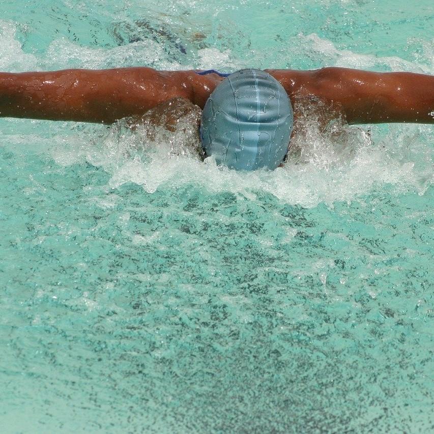楽になるバタフライでキレイに速く泳ぐ